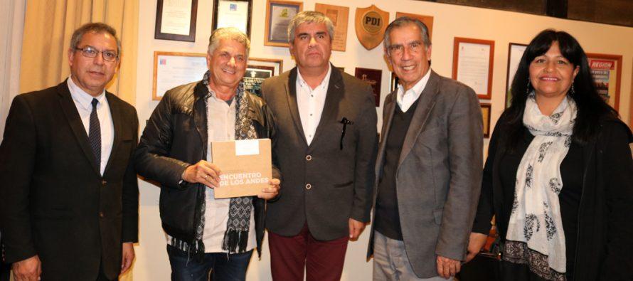 Vicuña proyecta convenios culturales con Cuba tras visita del presidente de traducción de UNEAC