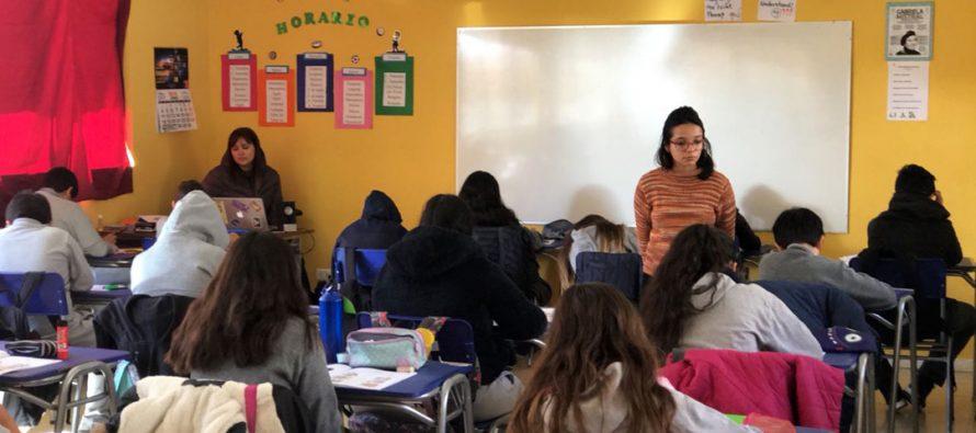 280 estudiantes de Vicuña y Paihuano fueron evaluados en su dominio del inglés