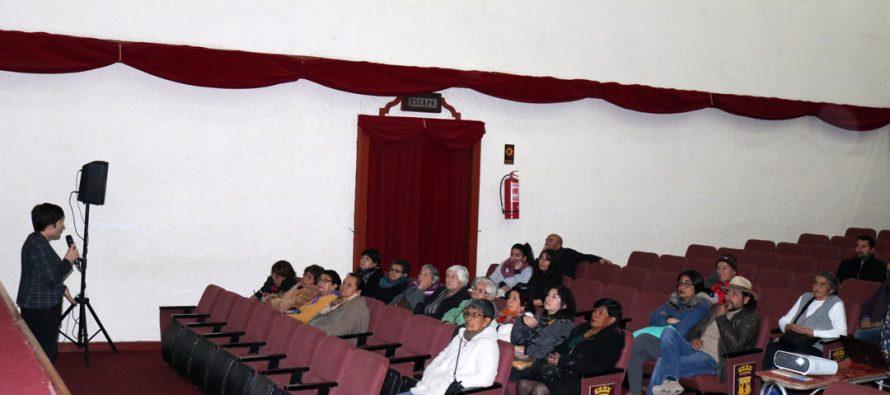 En Vicuña se vivió la 1era consulta ciudadana sobre el proyecto de reparación de la Torre Bauer