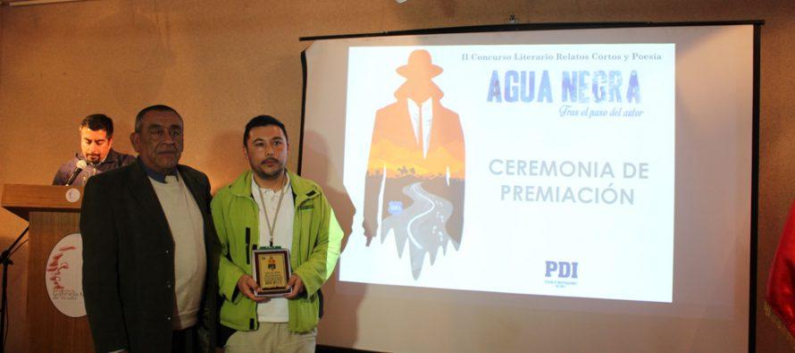 El 06 de julio en el frontis del cuartel de la PDI de Vicuña será la premiación del concurso literario