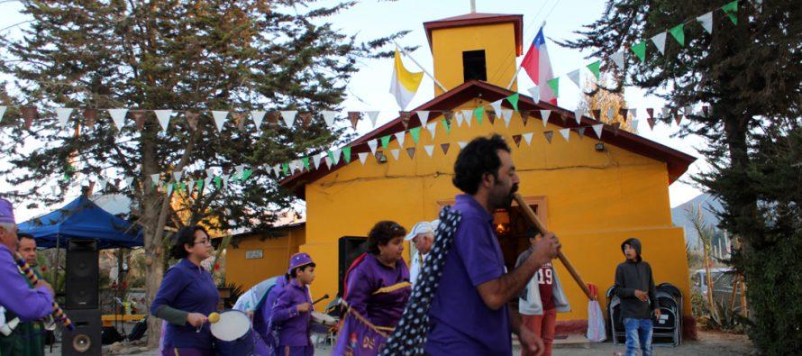 Comunidad de Quebrada de Talca celebró su fiesta patronal