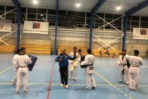 Invitan a jóvenes de Vicuña a hacerse parte de la academia de taekwondo en el polideportivo