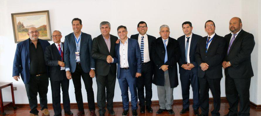 Alcaldes e intendentes acuerdan contar con oficina municipal en Provincia de San Juan