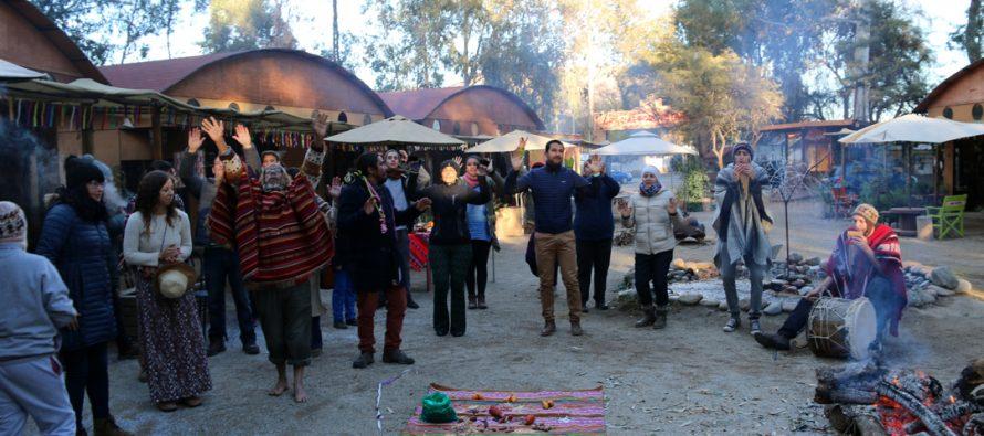 Celebran el Año Nuevo Andino en Aldea Elquina con rogativas para el nuevo periodo