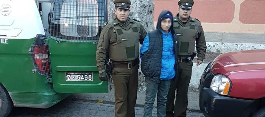 Tribunal ordena arresto domiciliario para joven detenido por robos en Paihuano