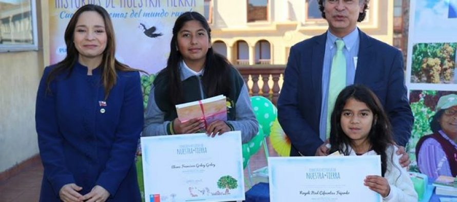 """Estudiante de Vicuña obtuvo distinción especial en el concurso """"Historias de Nuestra Tierra"""""""