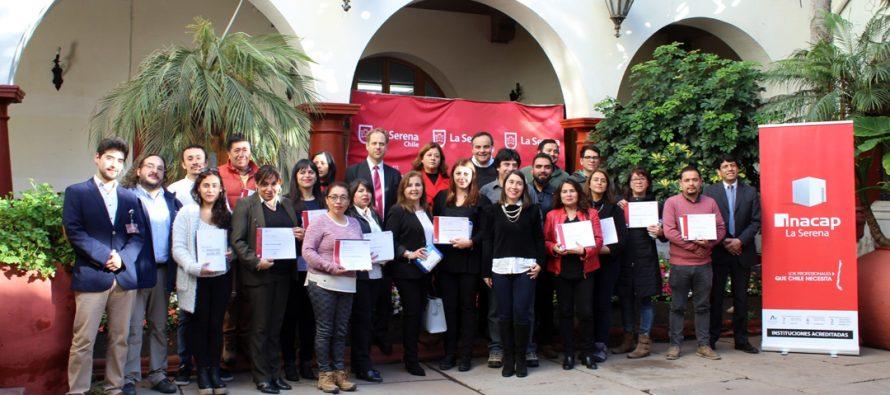 Universidad INACAP capacita a funcionarios de la Municipalidad de La Serena en primeros auxilios