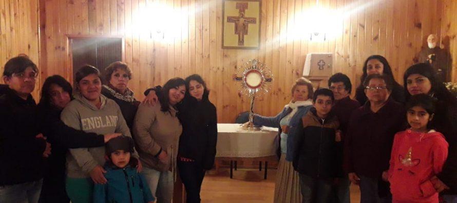 Custodia Peregrina del Congreso Eucarístico finaliza peregrinación por la Vicaría del Elqui