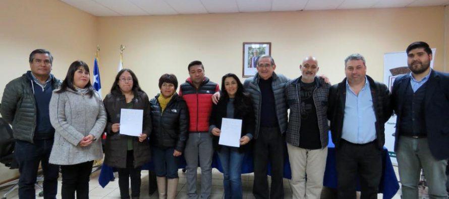 Autoridades comunales hacen entrega de pasajes a seleccionados de judo