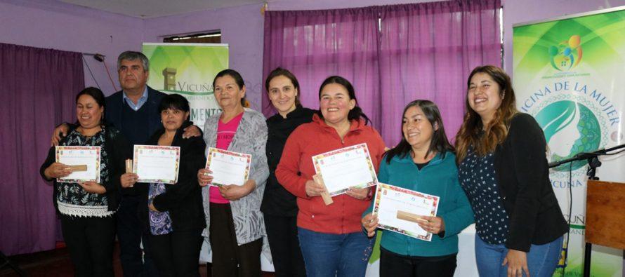 En Calingasta cerró el primer ciclo del taller de comida saludable y emprendimiento