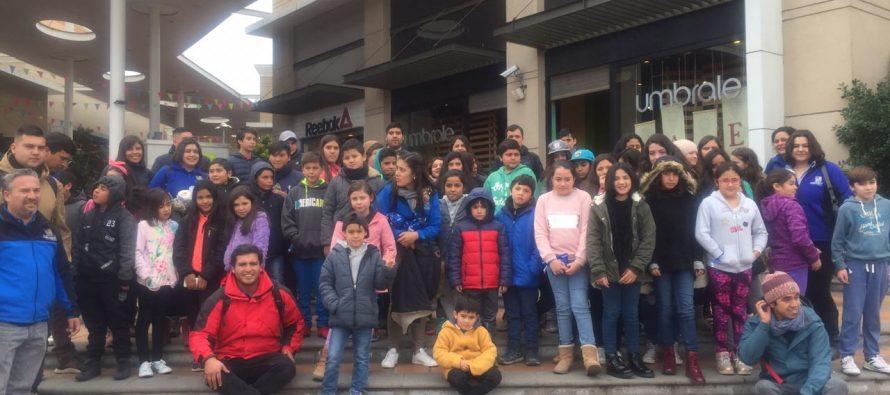Niños de Paihuano disfrutan de sus vacaciones en La Serena y Coquimbo