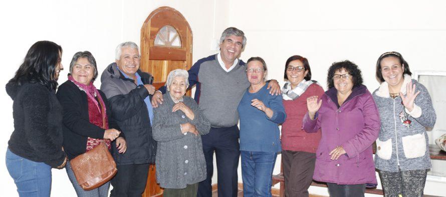 Agrupación solidaria Mar y Cruz de Calingasta celebra su primer año de vida