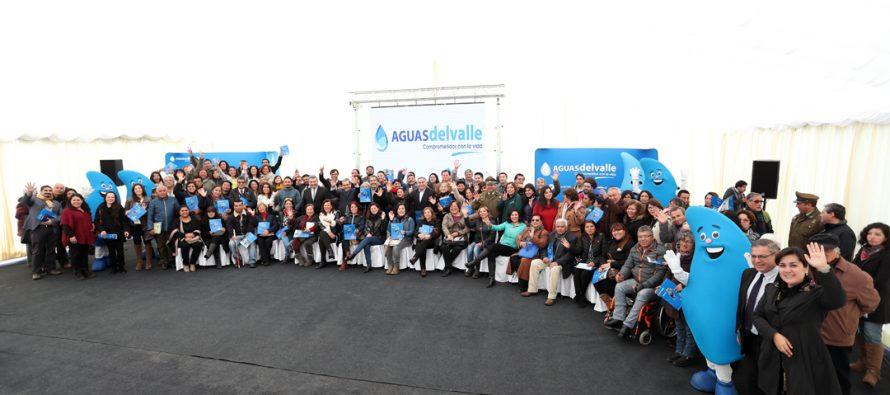 """Gran convocatoria en el lanzamiento del Fondo Concursable """"Contigo en Cada Gota"""" en Elqui"""