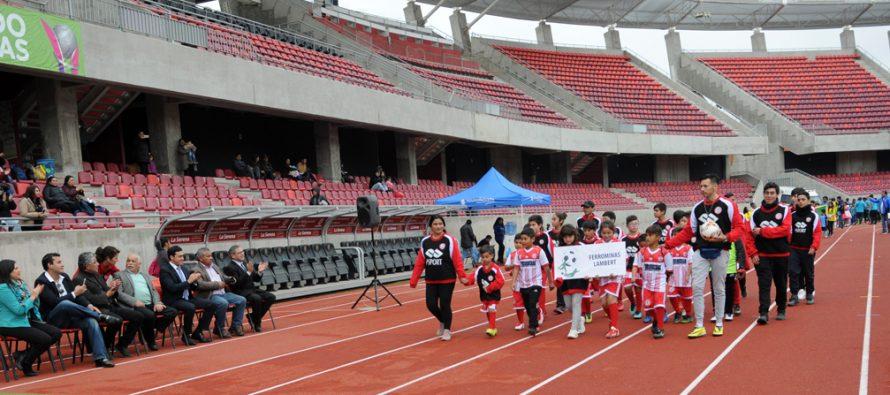 Comienza primer Campeonato de Fútbol Rural Infantil en La Serena