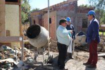 Un 50% de avance presenta la nueva sede que tendrá la población Pablo Neruda