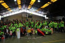 """Batucada comunal """"Tambores Elqui"""" celebró un año de vida en gimnasio Municipal de Vicuña"""