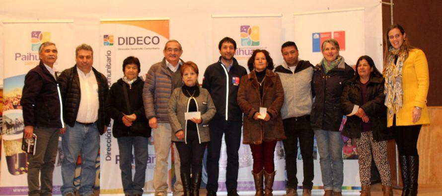 Un total de 37 productores de Paihuano reciben financiamiento para sus emprendimientos