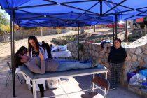 """El Spa en tu Barrio """"regaloneo"""" a las vecinas de la localidad de Gualliguaica"""