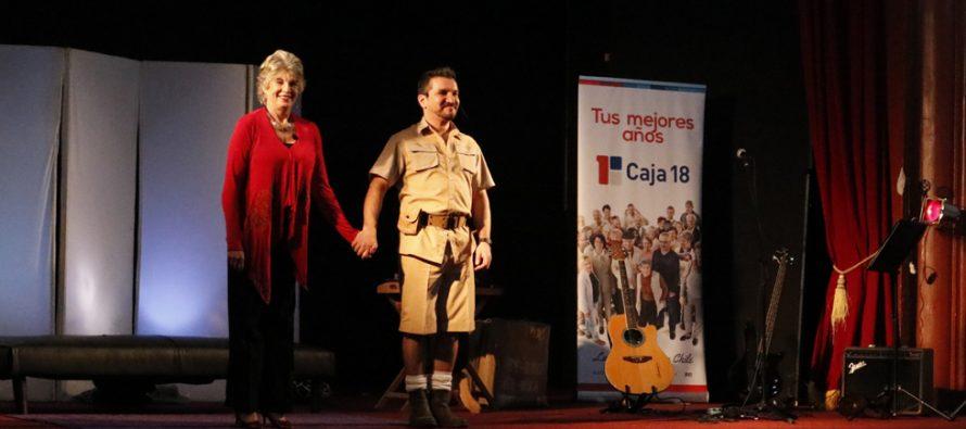 """Con éxito se desarrolló la obra """"Amor a la africana"""" en el teatro de Vicuña"""