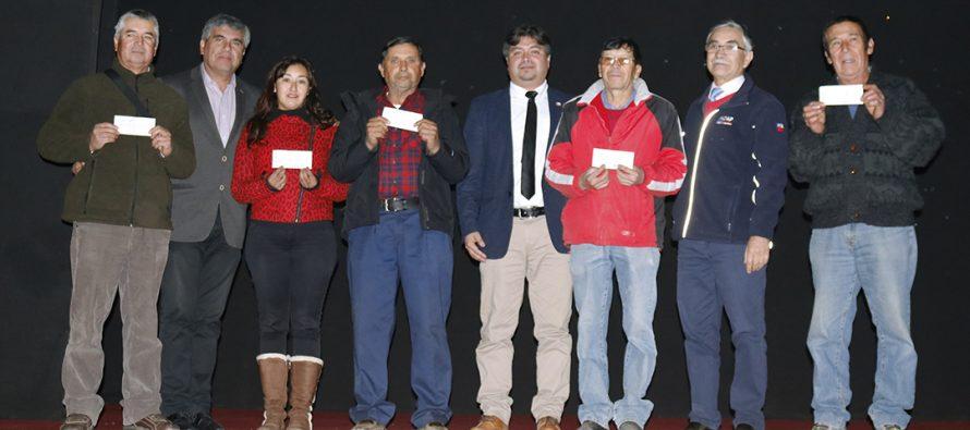 66 agricultores de Vicuña fueron beneficiados con bonos de INDAP por emergencia e IFP