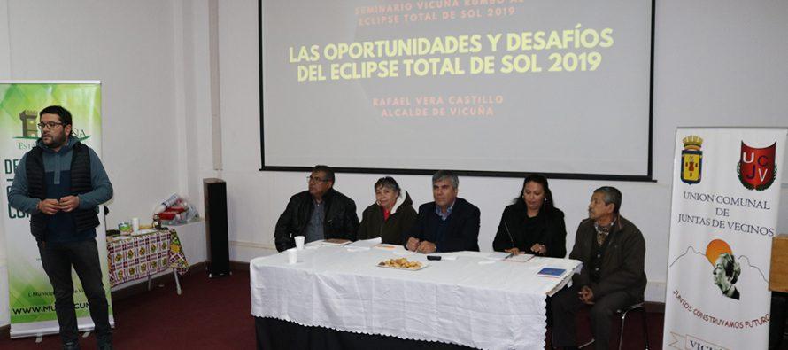En masiva asamblea asume nueva directiva de la Unión Comunal de Juntas de Vecinos de Vicuña