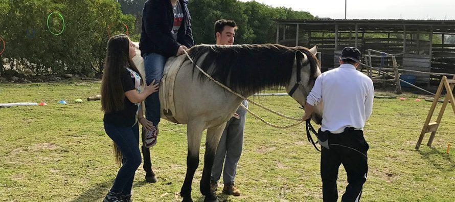 Fundación El Rosario cumplirá una década de labor mediante la zooterapia