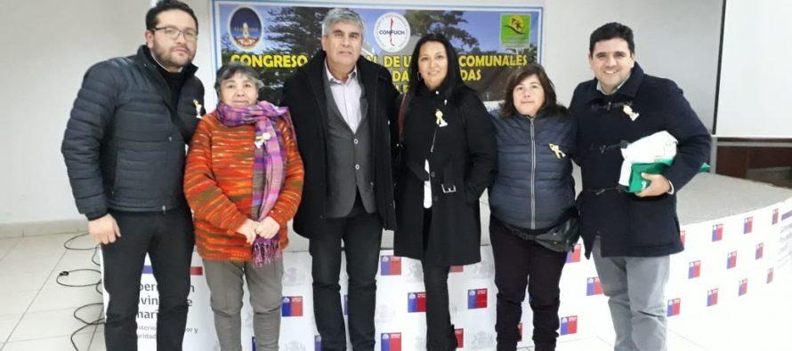 Dirigentes de Vicuña participan en Congreso Nacional de Uniones Comunales
