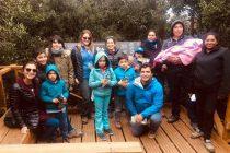 Alumnos de Alcohuaz visitan Parque Nacional Fray Jorge