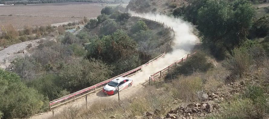 Con la Partida Protocolar y el Shakedown se comienza a vivir la cuarta fecha del RallyMobil en Vicuña