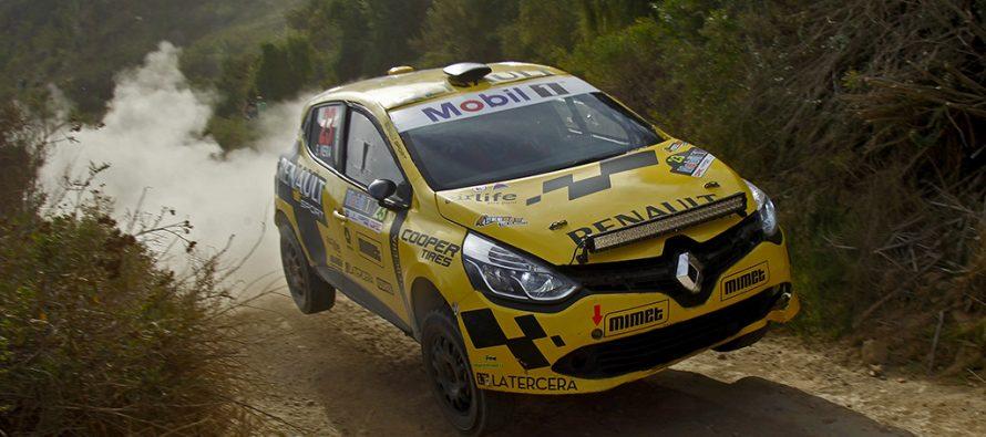 Equipo Renault se ubica en el podio de la R3 en la primera etapa de Vicuña