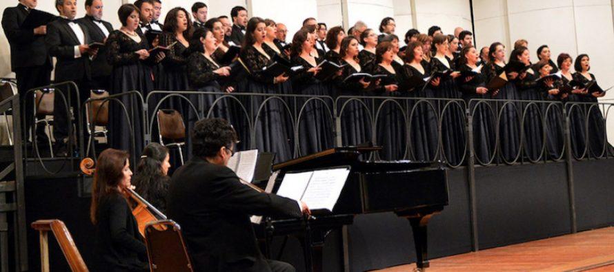 Coro Municipal de Santiago se presentará este fin de semana en Vicuña