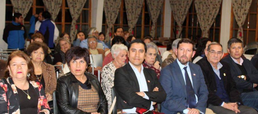 Municipio de Paihuano reconoce labor de los dirigentes sociales