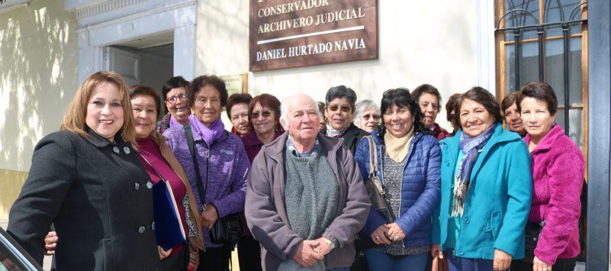 7 clubes del adulto mayor de Vicuña fueron apoyados por SENAMA para concretar sus proyectos