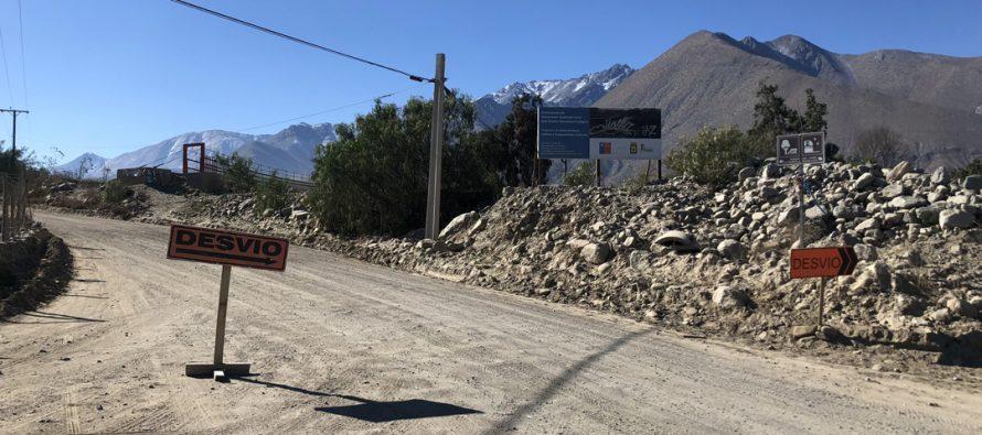 Comienzan trabajos de pavimentación del ingreso a San Isidro – Calingasta