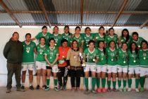"""Unión Esperanza de El Tambo es el """"bicampeón"""" del Fútbol Femenino de Vicuña y Paihuano"""