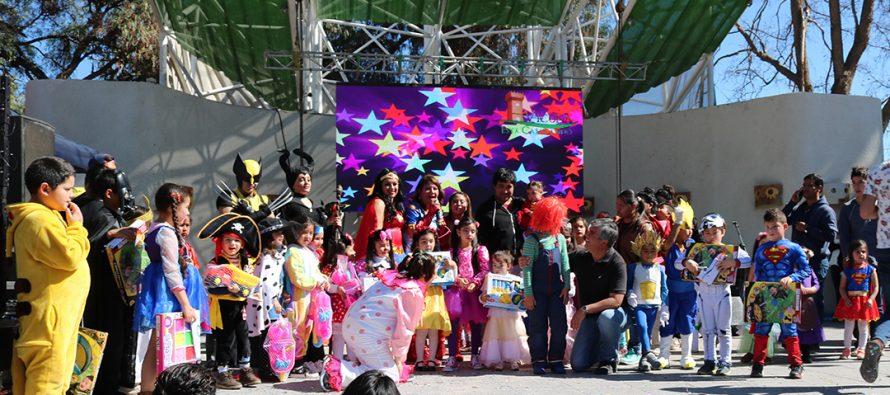 Miles de elquinos celebraron el Día del Niño en la plaza Gabriela Mistral de Vicuña
