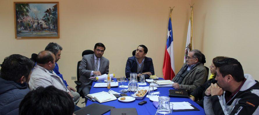Concejo Municipal y SUBDERE analizan proyectos emblemáticos para Paihuano