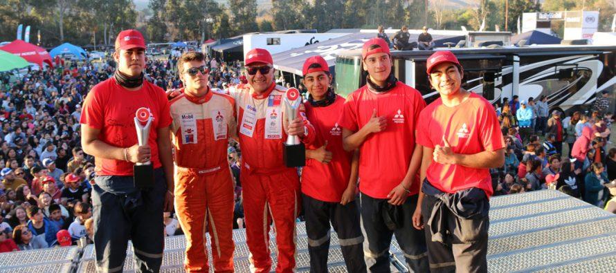 Estudiantes del Liceo de Vicuña en el RallyMobil 2018