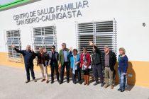 Para el mes de octubre se espera la apertura del CESFAM San Isidro – Calingasta