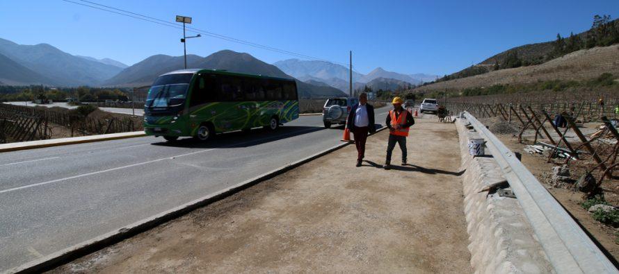 Gualliguaica contará con una entrada más segura a su localidad desde la próxima semana