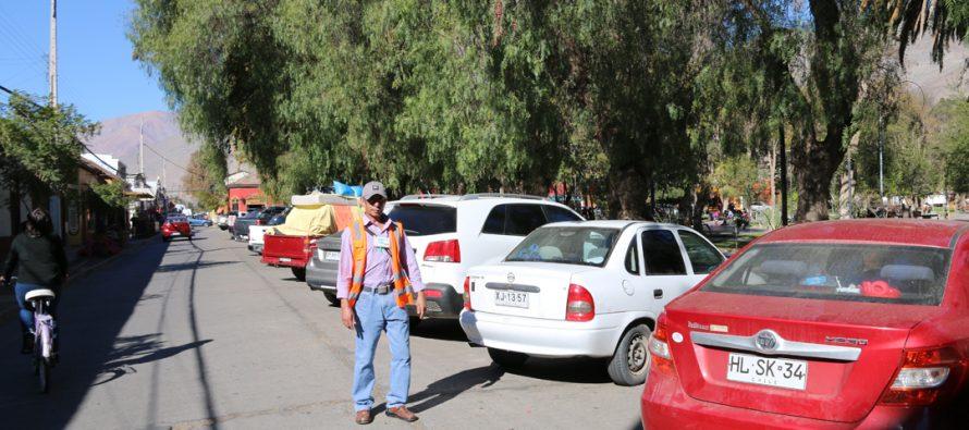 Nueva ordenanza regulará a cuidadores de automóviles de calles céntricas de Vicuña