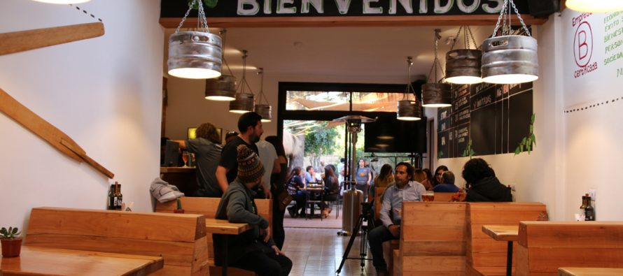 Cervecera Guayacán inaugura su nuevo bar en el centro de Vicuña