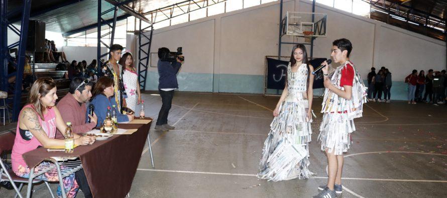 Con una entusiasta participación se desarrollaron las Olimpiadas de la Juventud en Vicuña