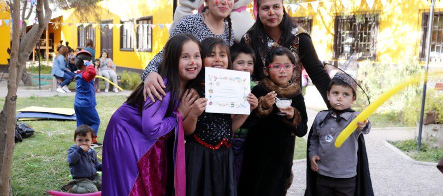 Hepi Crianza celebró su tercer cumpleaños en Vicuña con una fiesta para niños y niñas
