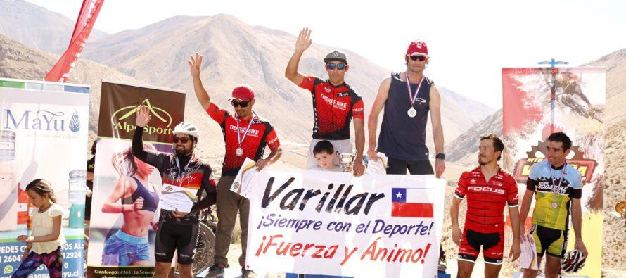 """Más de 80 ciclistas se hicieron parte del desafío """"Rutas Ancestrales"""" de XCM en Vicuña"""