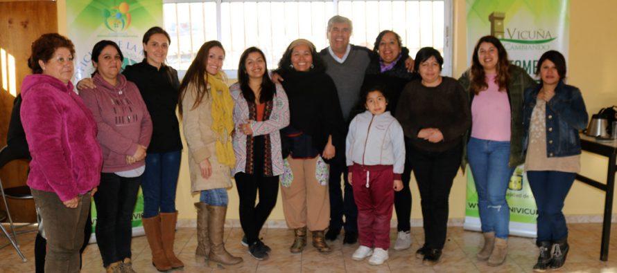 En Vicuña comenzó el 2do ciclo de talleres de Alimentación Saludable y Emprendimiento