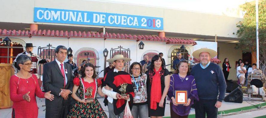 A Ovalle irán a participar los ganadores de la XL Muestra Comunal de Cueca Escolar de Vicuña