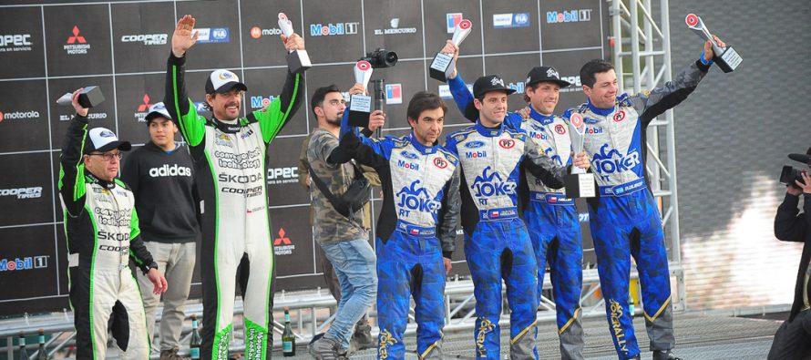 Vicuña marcó el Campeonato RallyMobil con la cuarta fecha del 2018