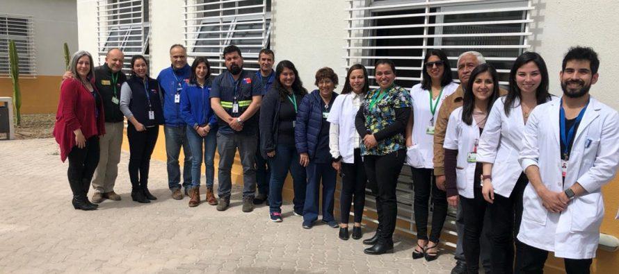 Dan autorización sanitaria a CESFAM  San Isidro Calingasta