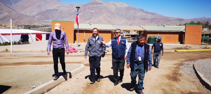 Inspeccionan condiciones sanitarias e infraestructura de Pampilla San Isidro en Vicuña